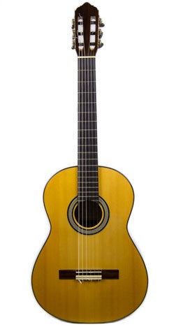 Flamenco Guitar 2008 DeVoe negra front fixed.jpg