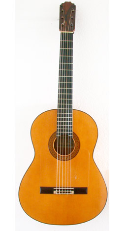 Flamenco Guitar Reyes 1974